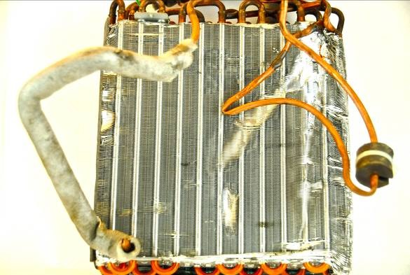 Unclean Aluminum Copper Radiator