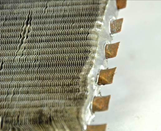 Clean Aluminum Copper Radiator